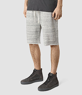 Men's Trema Sweatshort (Ecru Mou/Vntg Wht) - product_image_alt_text_3