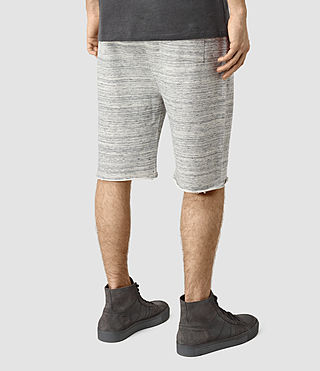 Men's Trema Sweatshort (Ecru Mou/Vntg Wht) - product_image_alt_text_4