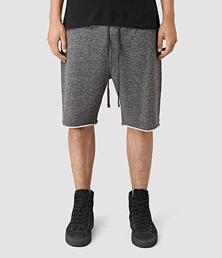 Mens Trema Sweatshorts (CHARC MOUL/CEMENT) - product_image_alt_text_1