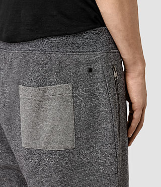 Mens Trema Sweatshorts (CHARC MOUL/CEMENT) - product_image_alt_text_2
