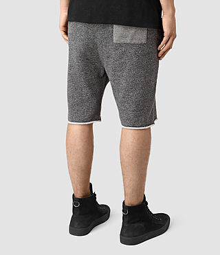 Mens Trema Sweatshorts (CHARC MOUL/CEMENT) - product_image_alt_text_4