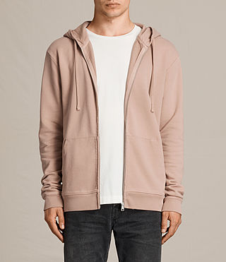 Mens Exole Zip Hoody (Dusk Pink) - product_image_alt_text_1