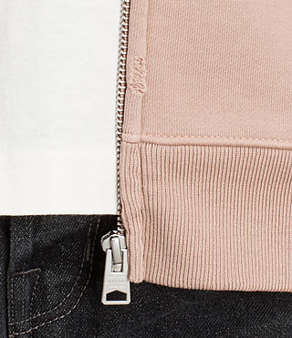 Mens Exole Zip Hoody (Dusk Pink) - product_image_alt_text_2