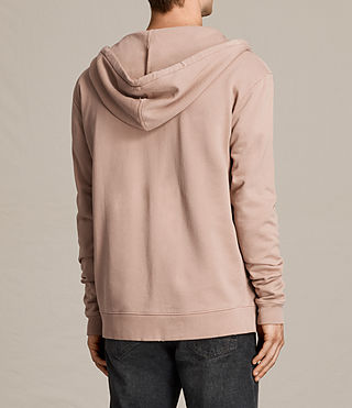 Mens Exole Zip Hoody (Dusk Pink) - product_image_alt_text_4