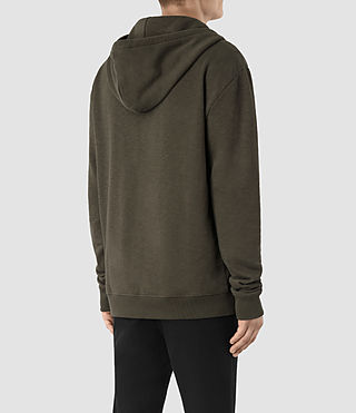 Mens Aryan Hoody (OLIVE GRN/JET BLK) - product_image_alt_text_3