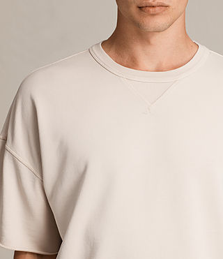Mens Formin Short Sleeve Crew Sweatshirt (Quartz Pink) - product_image_alt_text_2