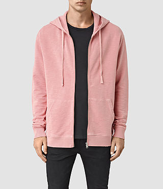 Mens Pigment Hoody (ROSETTE PINK) - product_image_alt_text_1