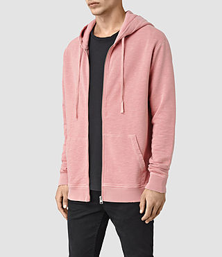 Mens Pigment Hoody (ROSETTE PINK) - product_image_alt_text_2