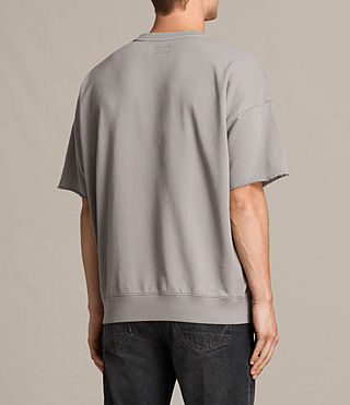 Men's Negotum Short Sleeve Crew Sweatshirt (Putty Brown) - product_image_alt_text_4
