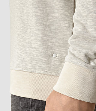 Men's Jenner Crew Sweatshirt (ECRU CHALK) - product_image_alt_text_2