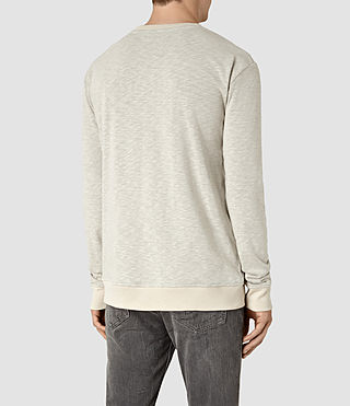 Mens Jenner Crew Sweatshirt (ECRU CHALK) - product_image_alt_text_4