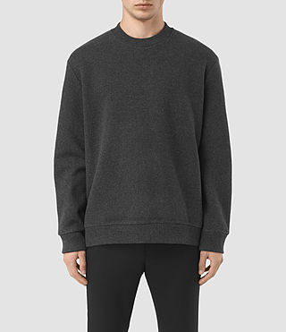 Men's Hester Crew Sweatshirt (Charcoal Marl)