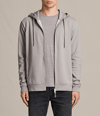 Mens Eason Hoody (Putty/Chalk) - product_image_alt_text_1