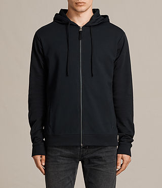 Mens Eason Hoody (BLACK/PEWTER) - product_image_alt_text_1