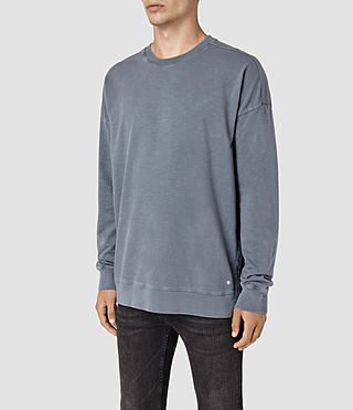 Mens Paragon Crew Sweatshirt (WASHED OCEAN BLUE) - product_image_alt_text_3