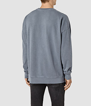 Mens Paragon Crew Sweatshirt (WASHED OCEAN BLUE) - product_image_alt_text_4
