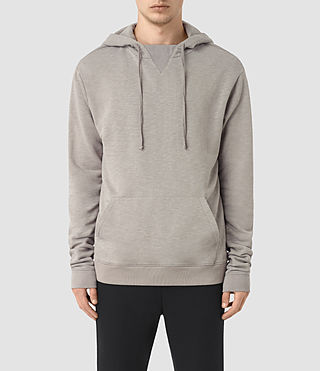 Hommes Sweat à capuche Meara (Putty Grey)