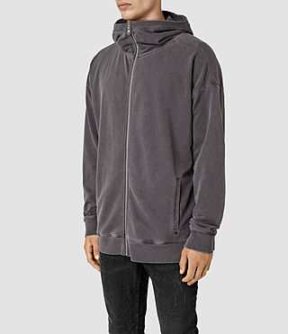 Hommes Paragon Hoody (Washed Graphite)