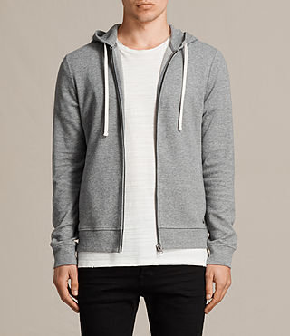 Men's Lasher Hoody (Charcoal Marl) - product_image_alt_text_1