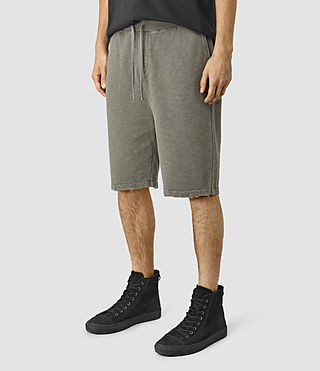 Men's Rigged Sweatshort (Olive Green) - product_image_alt_text_2