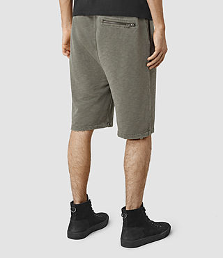 Hommes Rigged Sweatshort (Olive Green) - product_image_alt_text_3