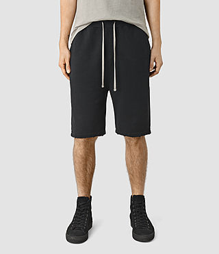 Hommes Rigged Sweatshort (Vintage Black)