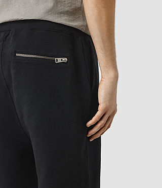 Herren Rigged Sweatshort (Vintage Black) - product_image_alt_text_2