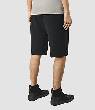 Hommes Rigged Sweatshort (Vintage Black) - product_image_alt_text_4