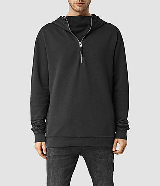 Mens Rigged Hoody (Vintage Black)