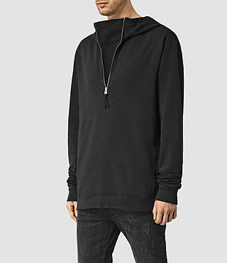 Men's Rigged Hoody (Vintage Black) - product_image_alt_text_2