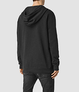 Men's Rigged Hoody (Vintage Black) - product_image_alt_text_3