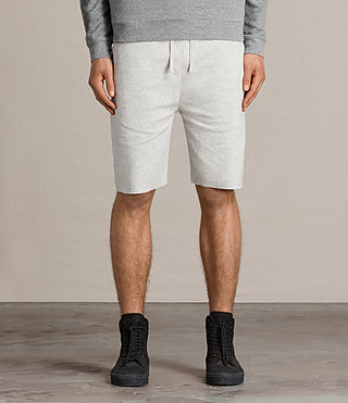 Mens Eason Sweat Short (CHALK/PUTTY) - product_image_alt_text_1