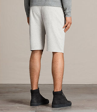 Mens Eason Sweat Short (CHALK/PUTTY) - product_image_alt_text_4