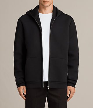 Men's Arman Hoody (Black) - Image 1