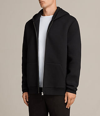 Men's Arman Hoody (Black) - Image 3