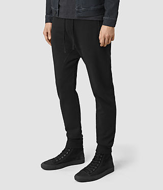 Hommes Orbit Sweatpant (Black) - product_image_alt_text_3