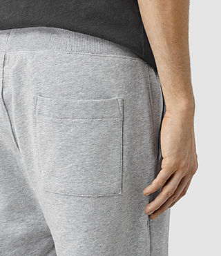 Hombres Wilde Sweatshort (Grey Marl) - product_image_alt_text_2