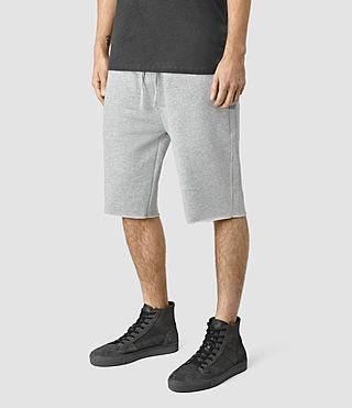 Uomo Wilde Sweatshort (Grey Marl) - product_image_alt_text_3