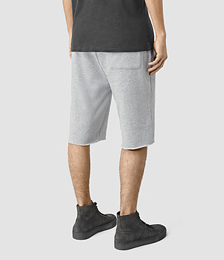 Hombres Wilde Sweatshort (Grey Marl) - product_image_alt_text_4