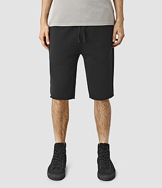 Hombre Wilde Sweatshort (Black) - product_image_alt_text_1
