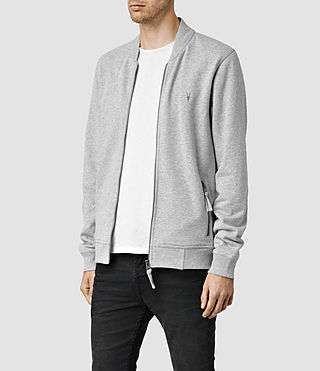 Hombres Oldsen Bomber (Grey Marl) - product_image_alt_text_2