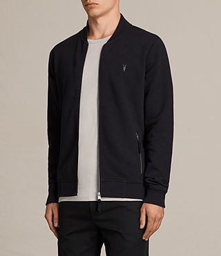 Men's Oldsen Sweat Bomber (INK NAVY) - product_image_alt_text_3