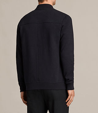Men's Oldsen Sweat Bomber (INK NAVY) - product_image_alt_text_4