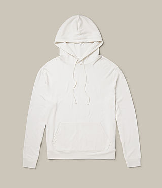 Mens Smith Pullover Hoody (Vintage White) - product_image_alt_text_1