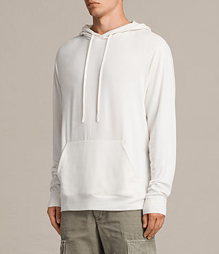 Mens Smith Pullover Hoody (Vintage White) - product_image_alt_text_5