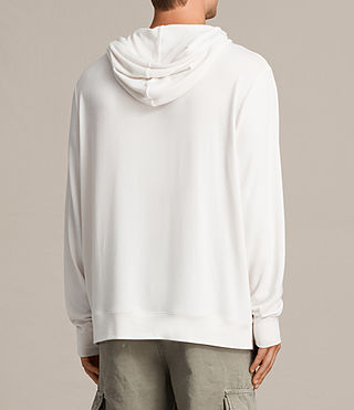 Mens Smith Pullover Hoody (Vintage White) - product_image_alt_text_6