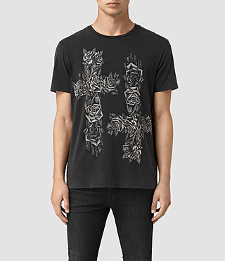 Mens Void Crew T-Shirt (Vintage Black) - product_image_alt_text_1