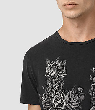 Mens Void Crew T-Shirt (Vintage Black) - product_image_alt_text_2
