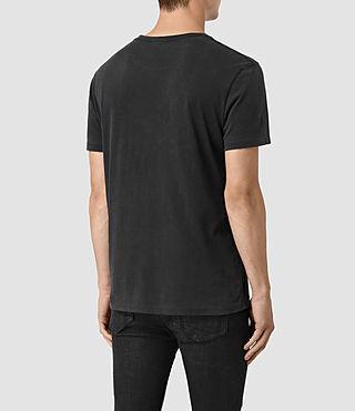 Men's Void Crew T-Shirt (Vintage Black) - product_image_alt_text_4