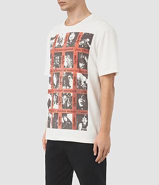 Hombre Command Crew T-Shirt (Chalk) - product_image_alt_text_2